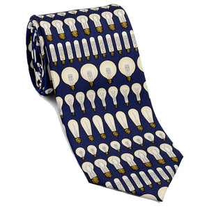 Lightbulb Necktie - Scientific