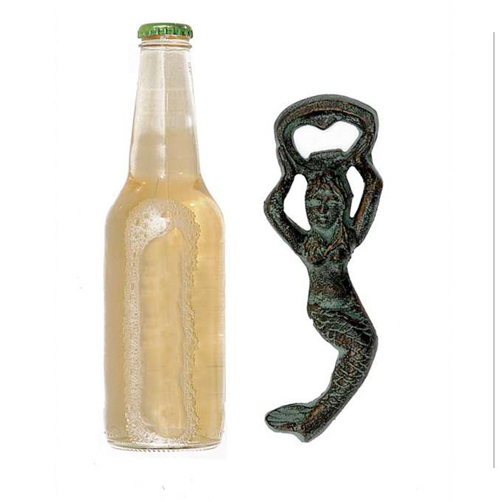 Swimming Mermaid Bottle Opener - Cast Iron
