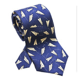 Paper Airplanes Necktie - Boys