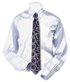 Baseball Stadiums (Demolished) Necktie