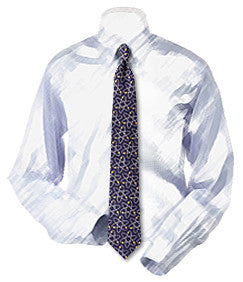 Atoms Diagram Necktie