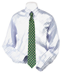 Baseball Fields Necktie