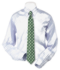 Golf Tees Necktie