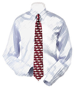 Sharks Swimming Necktie