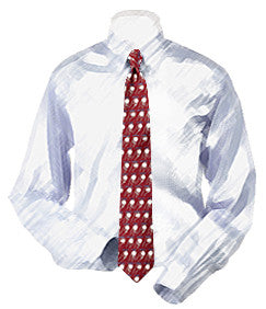 Baseball Pitches Necktie - Boys