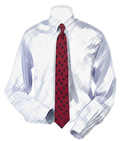 Pawprints Necktie for Boys
