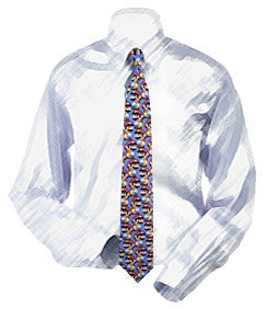Mario Inspired Necktie - Boys