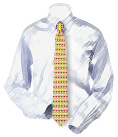 Wine Glasses Necktie