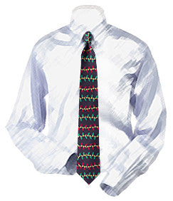Christmas Lights Necktie