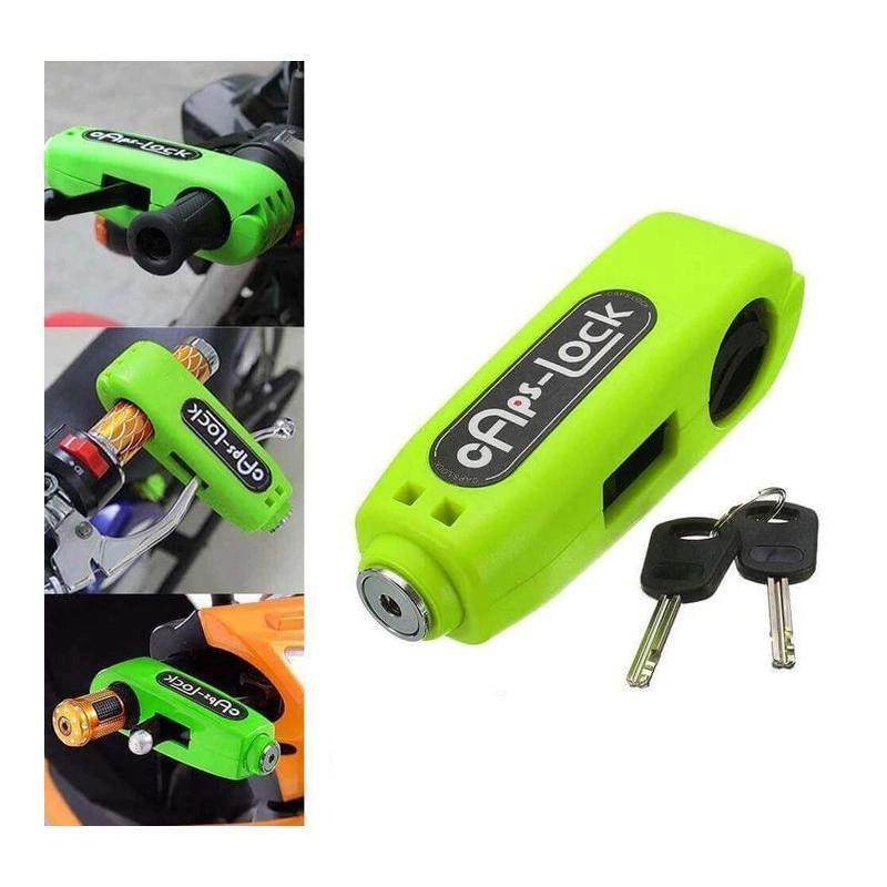 CapsLock Effective Motorcycle Grip Lock Security - AlphaDreamstore