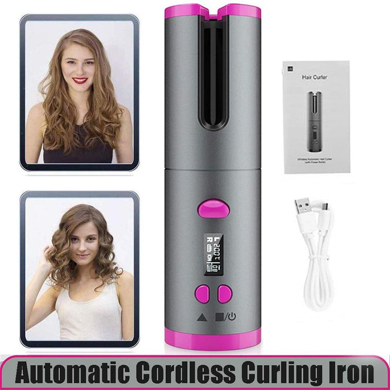 USB RECHARGEABLE HAIR CURLER - AlphaDreamstore