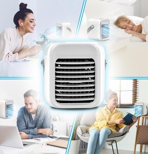 2020 Rechargeable Water-cooled Air Conditioner - AlphaDreamstore
