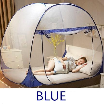 Portable Travel Mosquito Net, Anti-Mosquito Pops-up Mesh Tent Home Indoor Outdoor Garden Mosquito Net Easy Dome Mosquito Nets for Camping Travel Home Outdoor - AlphaDreamstore