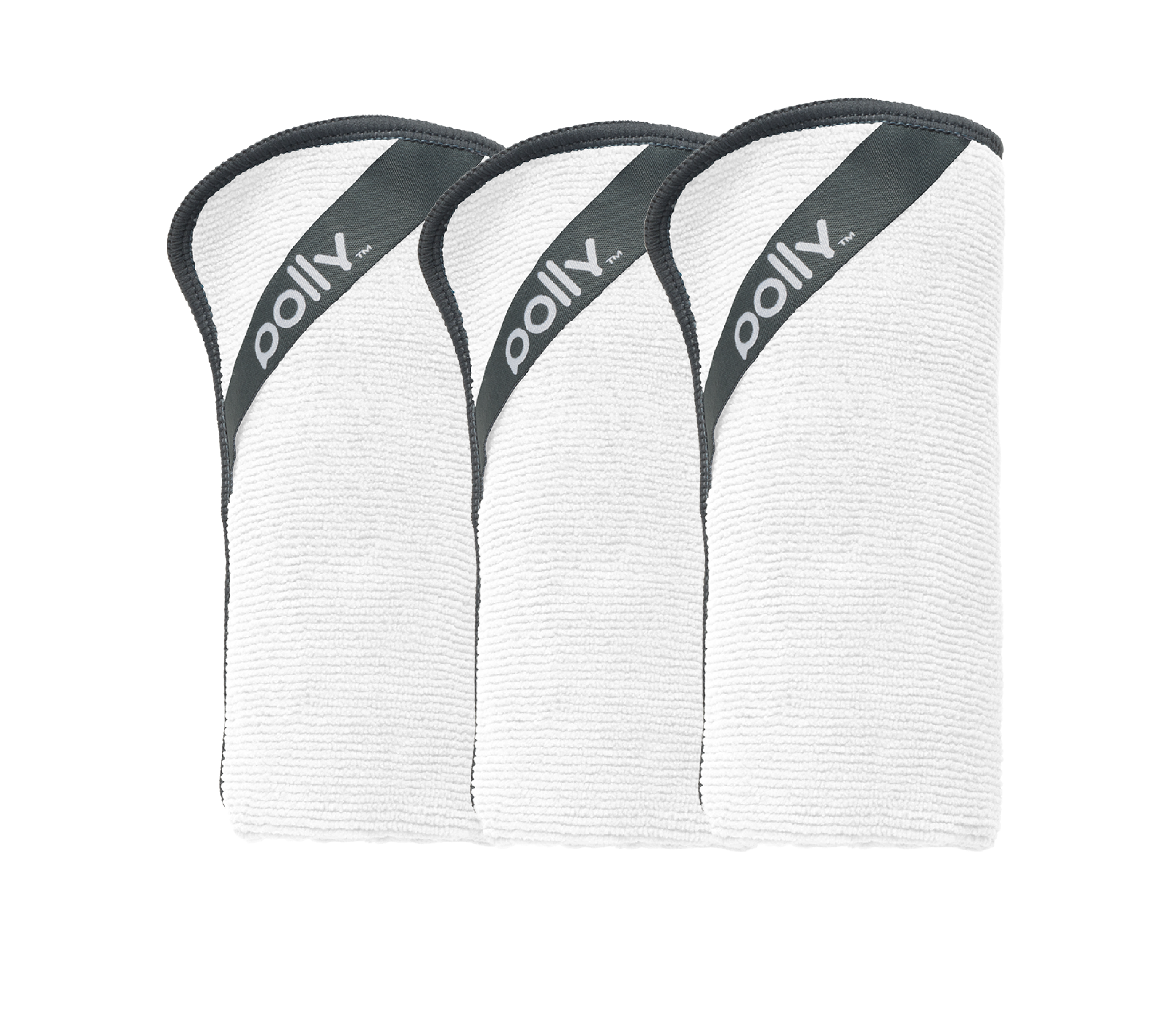 3 Pack: White Polly Cloth