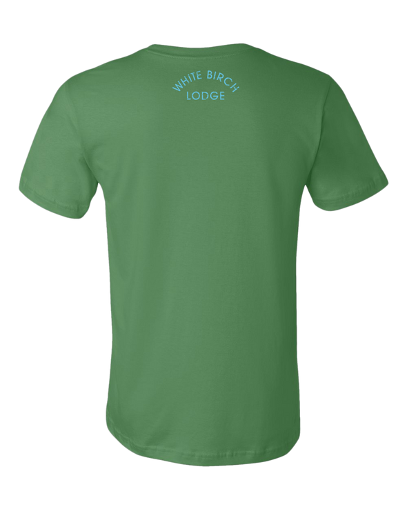 White Birch Lodge Sailing Premium Unisex T-Shirt