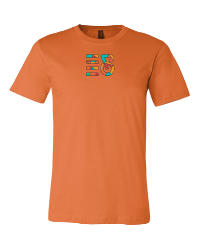 Intrepid Cycling Colorful Sectioned Premium Unisex T-Shirt