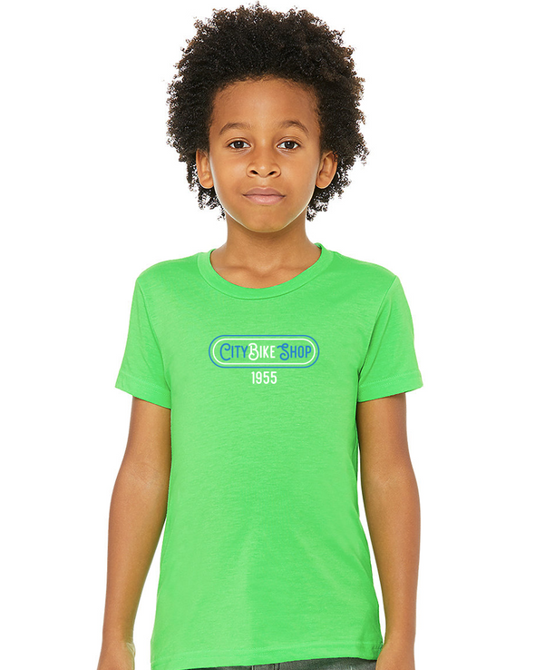 City Bike Shop Retro Youth Unisex T-Shirt