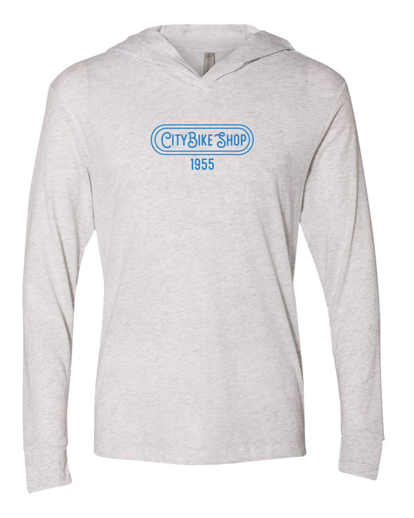 City Bike Shop Retro Long Sleeve Unisex Pullover