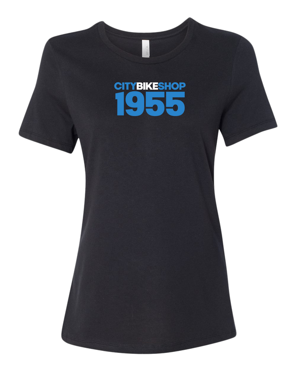 City Bike Shop 1955 Women's Relaxed T-Shirt
