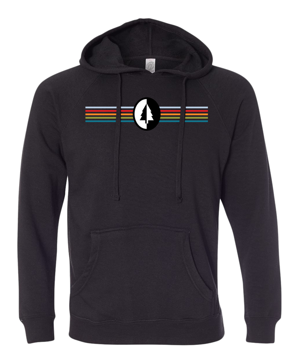 NMMBA MTB Stripes Midweight Unisex Hoodie