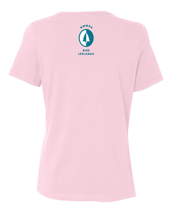 NMMBA Bike Leelanau Classic Women's Relaxed T-Shirt