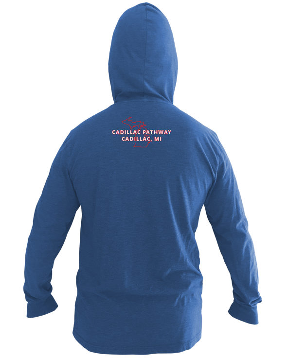 NMMBA Cadillac Pathway Long Sleeve Unisex Pullover