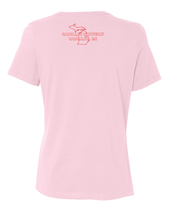 NMMBA Cadillac Pathway Women's Relaxed T-Shirt