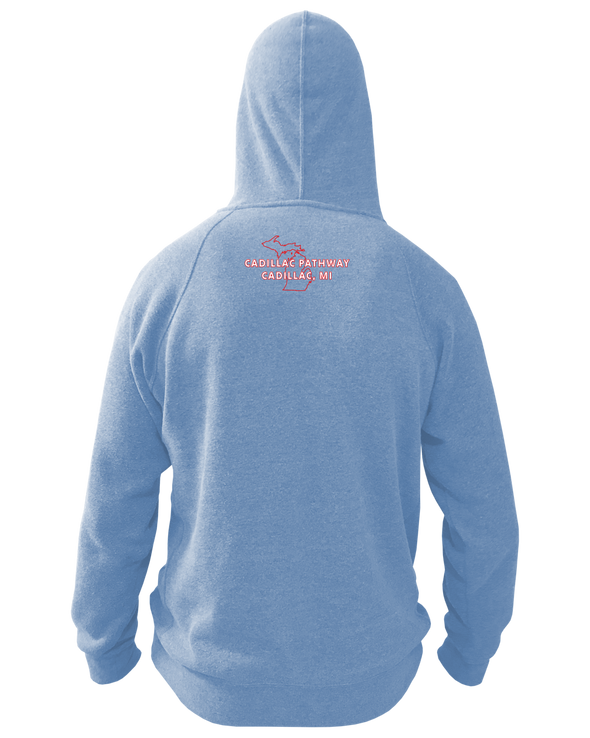 NMMBA Cadillac Pathway Midweight Unisex Hoodie