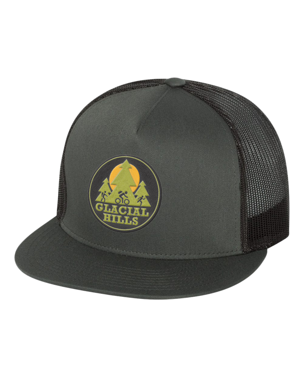 NMMBA Friends of Glacial Hills Classic Flat Bill Trucker Cap