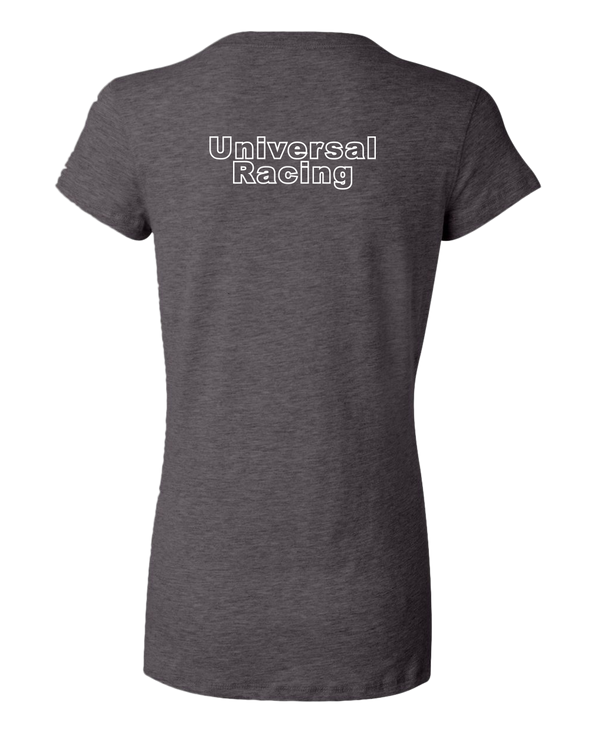Universal Racing Team Women's V-Neck T-Shirt