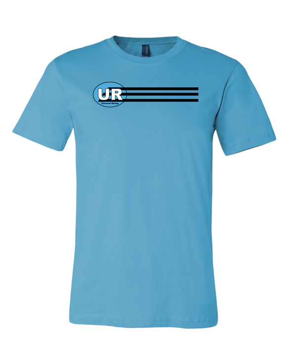 Universal Racing Team Stripes Logo Premium Unisex T-Shirt
