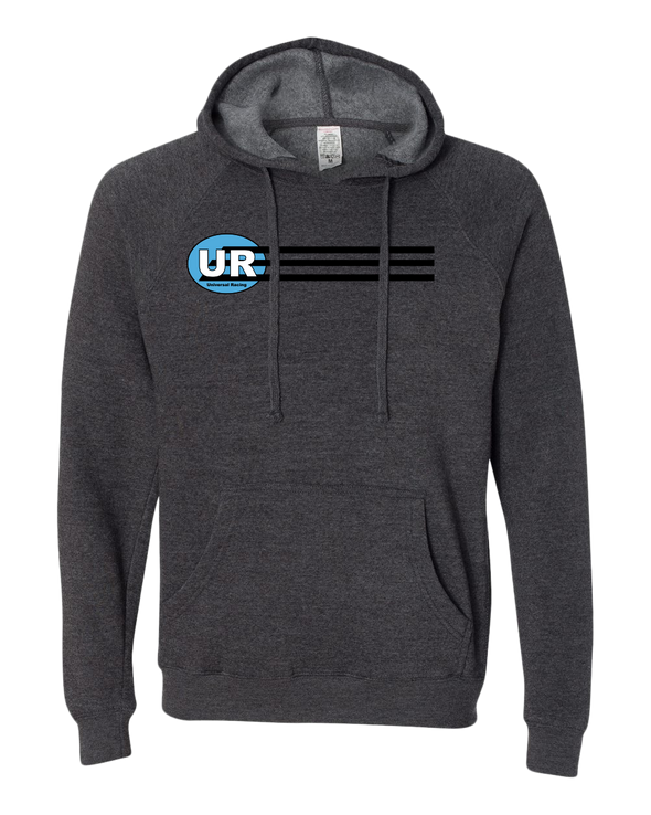 Universal Racing Team Stripes Midweight Unisex Hoodie
