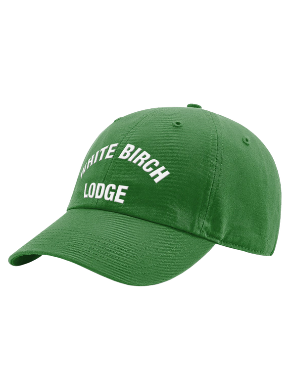 White Birch Lodge Bold Washed Chino Cap