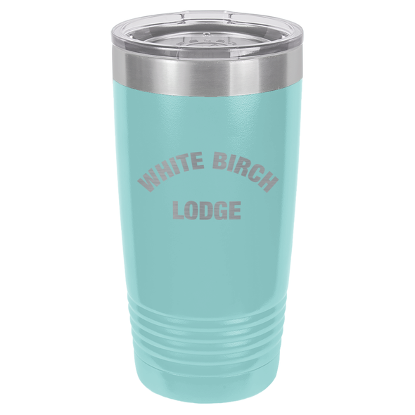 White Birch Lodge Bold 20oz Ringneck Tumbler