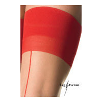 Bas couture cubain chair/rouge Leg Avenue
