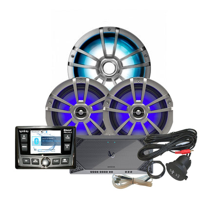 Infinity REFM315.2 Package w/Stereo, Amplifier, Speaker, Subwoofer, RGB Control, USB Extender  RGB Control [REFMPK315.2]