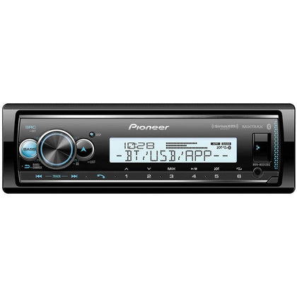Pioneer MVH-MS512BS Marine Stereo w/ AM/FM/BT/SiriusXM [MVH-MS512BS]