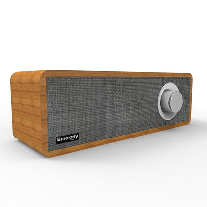 Portable Mini Wooden Wireless Speaker