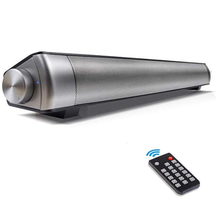 Bluetooth Soundbar Speaker with Built-in Subwoofer