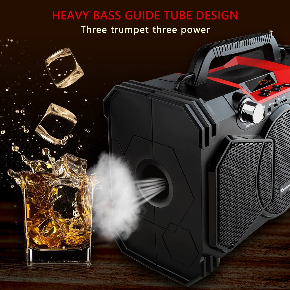 30w portable heavy bass speaker subwoofer with bass