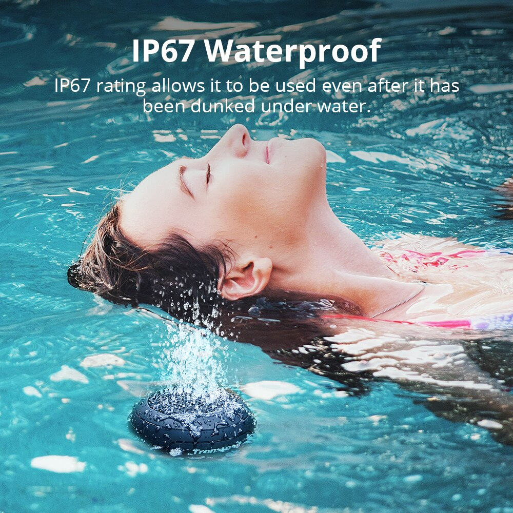 Splash IP67 Waterproof Bluetooth Speaker