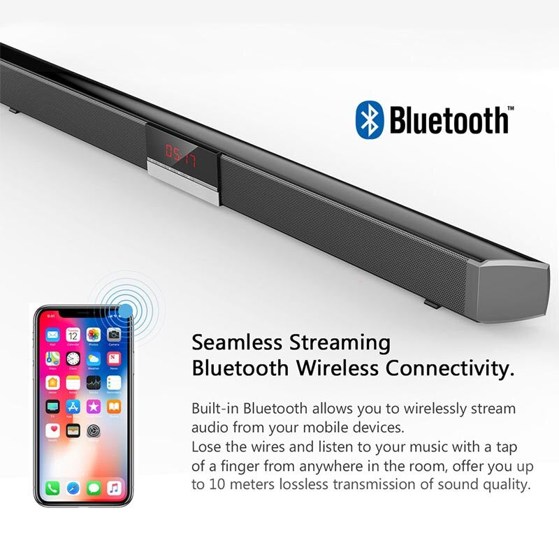 Must-have Bluetooth SoundBar with Subwoofer