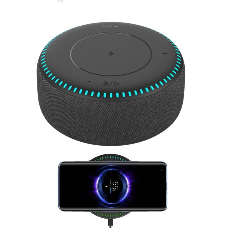Bluetooth Speaker with Wireless Charging