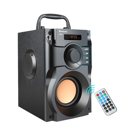 Big Bluetooth Speaker with LCD Display
