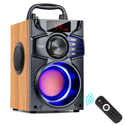 Floor-shaking Heavy Bass Portable Party Speaker