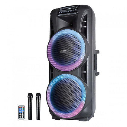 Axess Party Rock Bluetooth PA Speaker  2-15