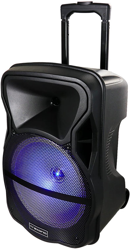 12 Inch Bluetooth Portable Party Speaker with Tripod Stand