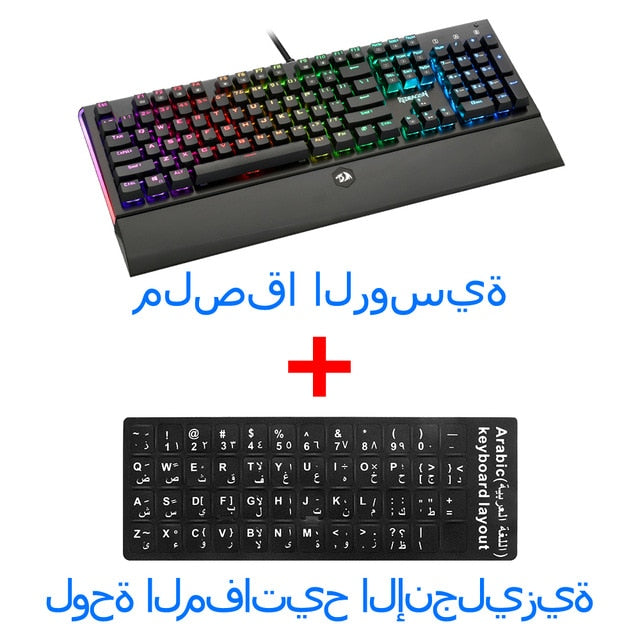 Redragon K569 Aluminum Wired Blue Switch Mechanical Gaming Keyboard
