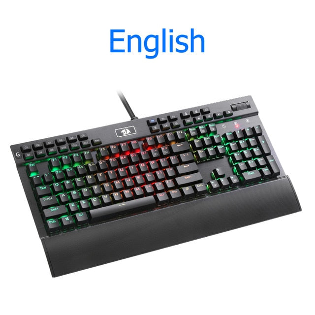 Redragon K550 Aluminum Wired Purple Switch Mechanical Gaming Keyboard
