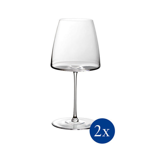 Metro Chic - Red wine goblet Set 2pcs